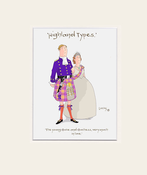 Highland Flummery - 'The young Duke and....'
