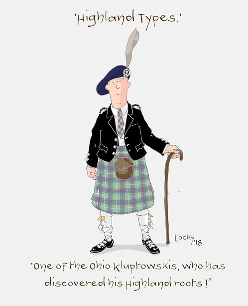 Cards, Highland Flummery - 'One of the Ohio........'