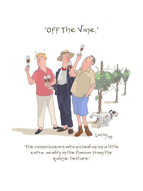Cards, OFF the VINE - The Connoisseurs......