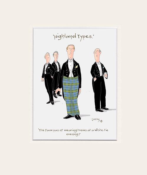 Highland Flummery - 'The Faux Pas....'