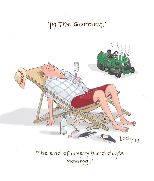 Cards Gardening - The end of.......