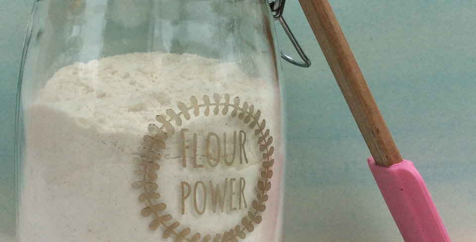 Flour Power Jar