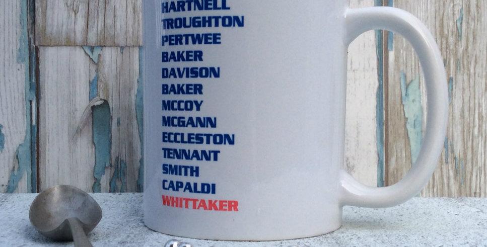 Doctor Who Mug