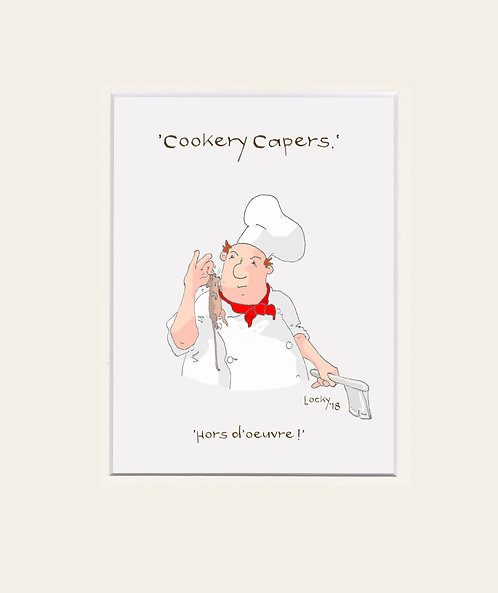 Cookery Capers -  Hors d'oeuvre!'