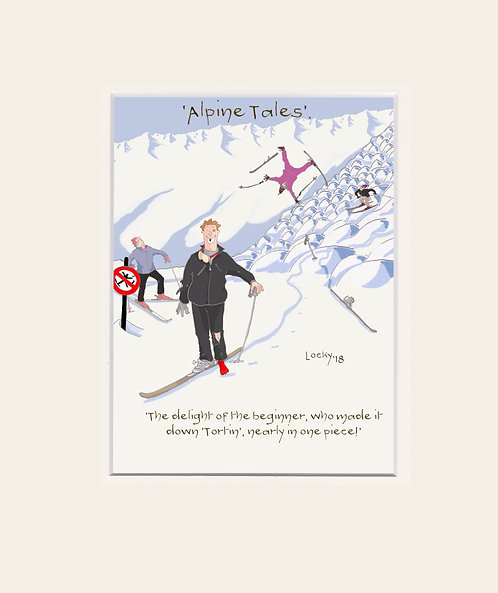 Alpine Tales - 'The delight of the....'