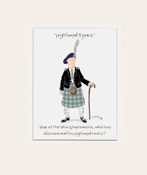Highland Flummery - 'One of the Ohio....'