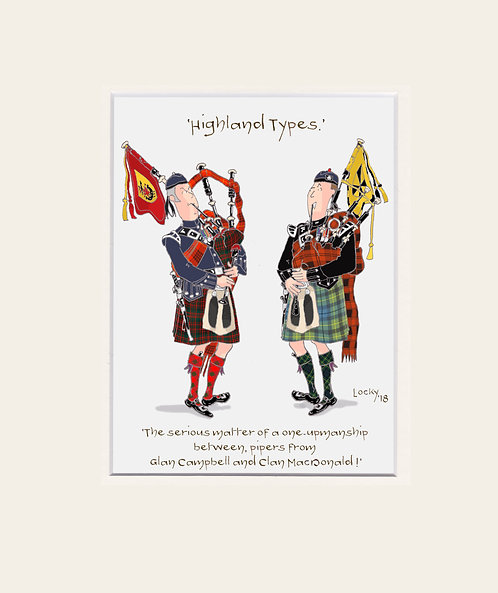 Highland Flummery - 'The serious matter....'