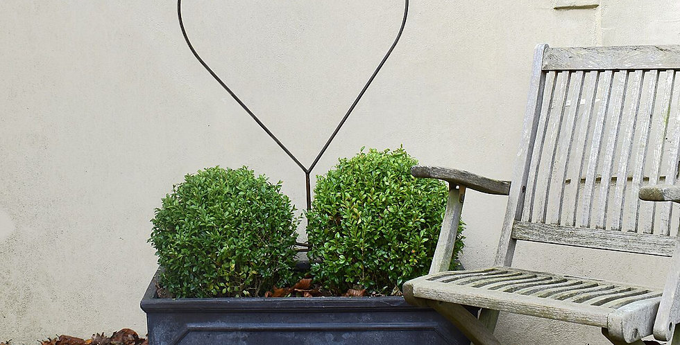 Large heart Topiary frame