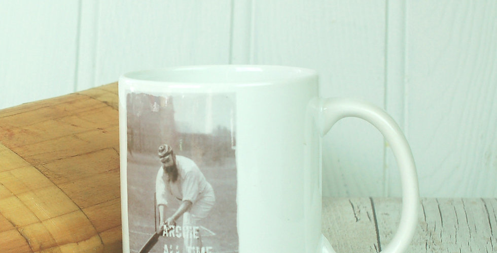 Personalised Cricket Legend Mug