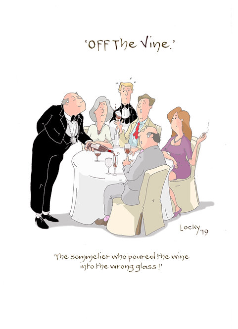 Cards, OFF the VINE - The Sommelier......