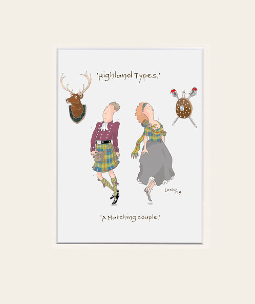 Highland Flummery - 'A Matching couple....'