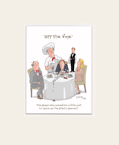 OFF the VINE - The Diner who........