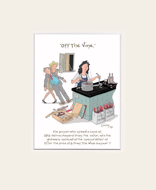 OFF the VINE - The Au pair who.........