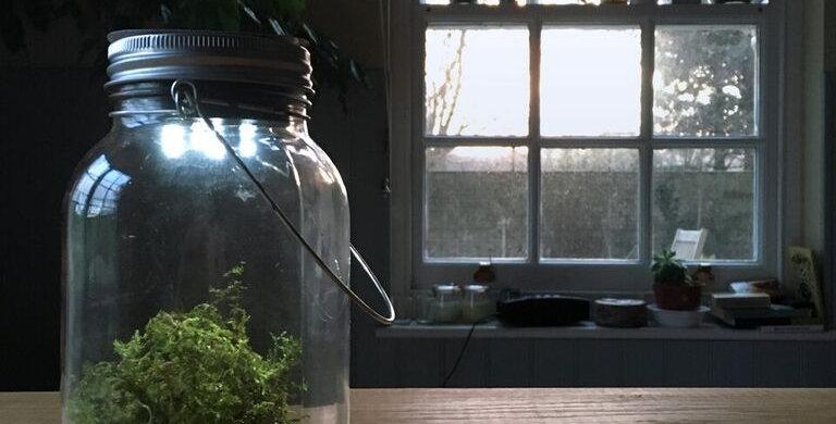 Personalised Solar Light Jar