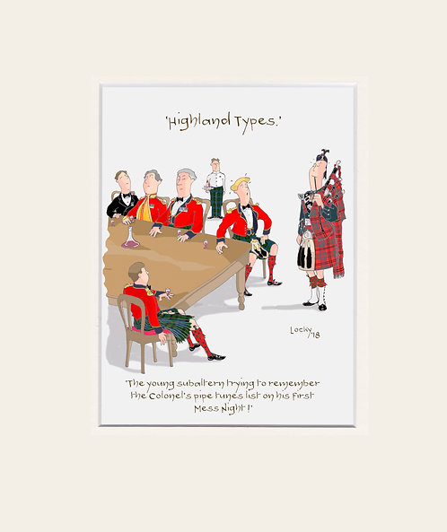 Highland Flummery - 'The young Subaltern....'