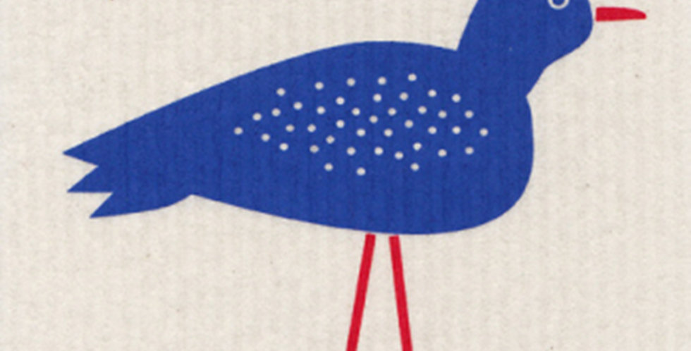 Blue Bird Dish Cloth