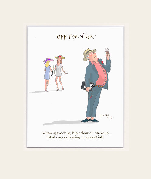 OFF the VINE - When inspecting.......