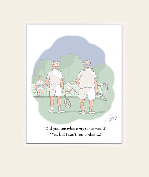 CARTOONS - PRINTS  'Did you see......'