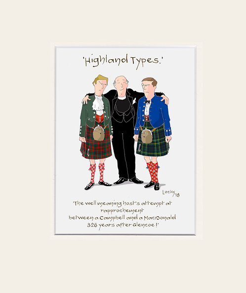 Highland Flummery - 'The well meaning....'