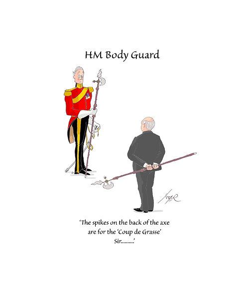 HMBG -CARD - The Spikes on the back........