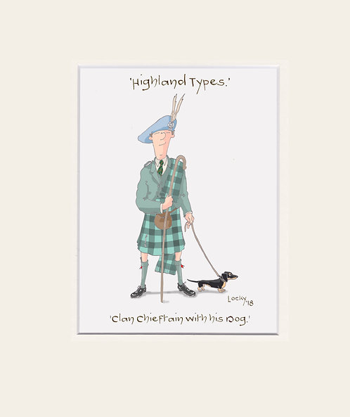 Highland Flummery - 'The Clan Chieftain.....'