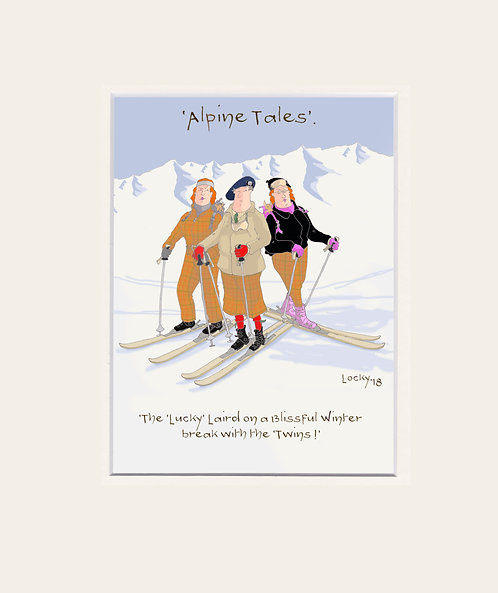 Alpine Tales - 'The Lucky Laird.......'
