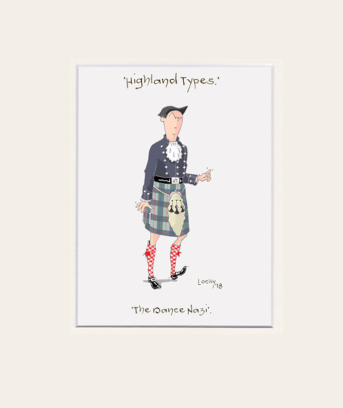 Highland Flummery - 'The Dance Nazi.....'