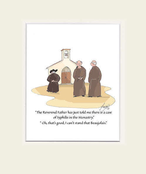 CARTOONS - PRINTS 'The Reverend.....