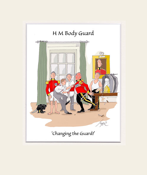 HMBG - Changing of the guard.