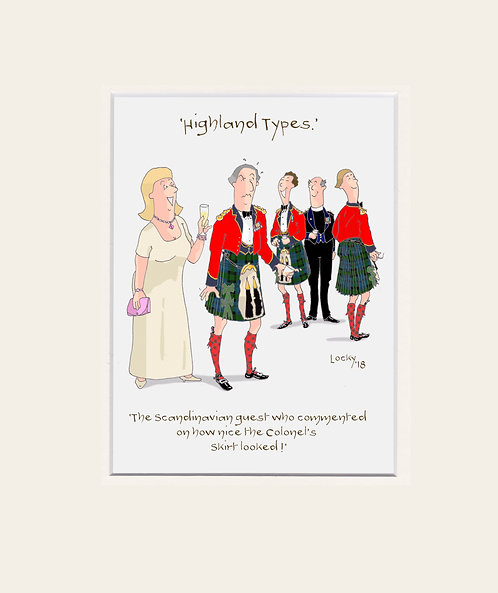 Highland Flummery - 'The Scandinavian guest who....'
