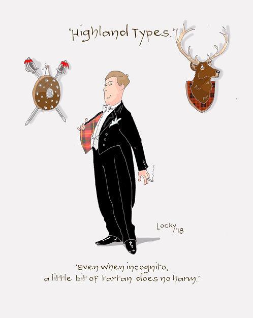 Cards, Highland Flummery - 'Even when....'