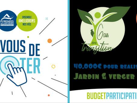 Votez pour le Jardin-Verger partagé !