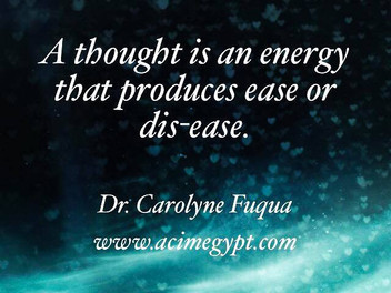 Thought & Energy