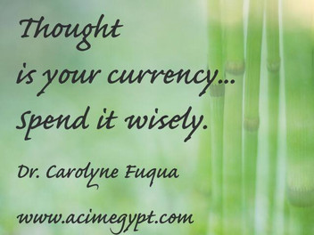Thought is your Currency