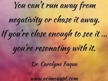 You can't run away