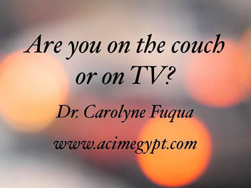 Couch or TV?