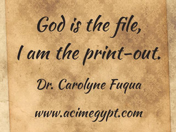 God is the File