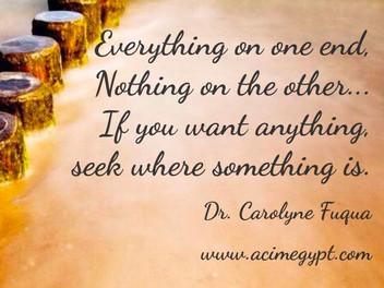 Seek where it is