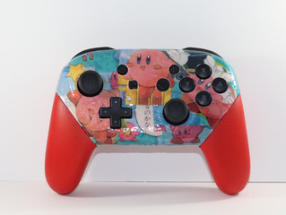 Win a Custom Kirby Pro Controller for Nintendo Switch!