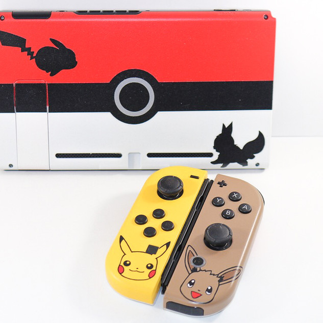 Pikachu and Eevee Nintendo Switch