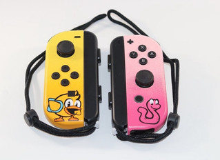 It's Official, Chicken Wiggle Workshop Joy-Cons are here!