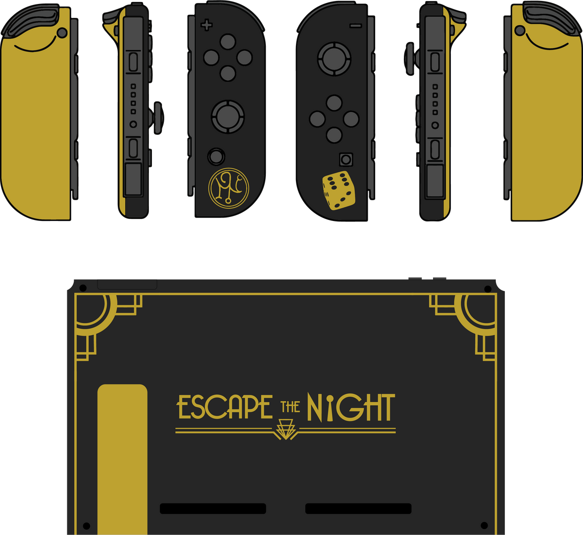 Escape the Night Console Mock-Up