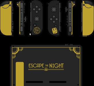 Escape the Night Console Mock-Up