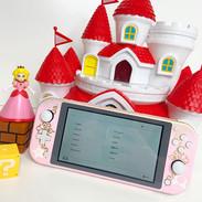 Princess Peach Switch Lite