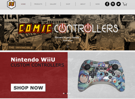 Welcome to the NEW ComicControllers.com
