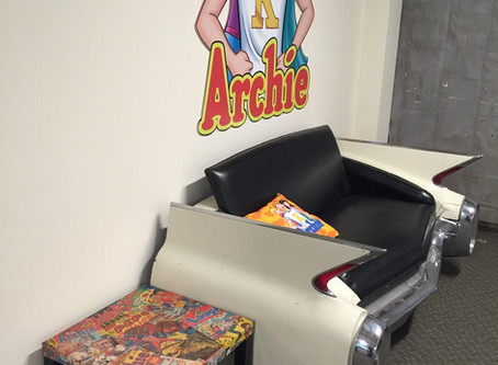 We've landed in the Archie Offices!