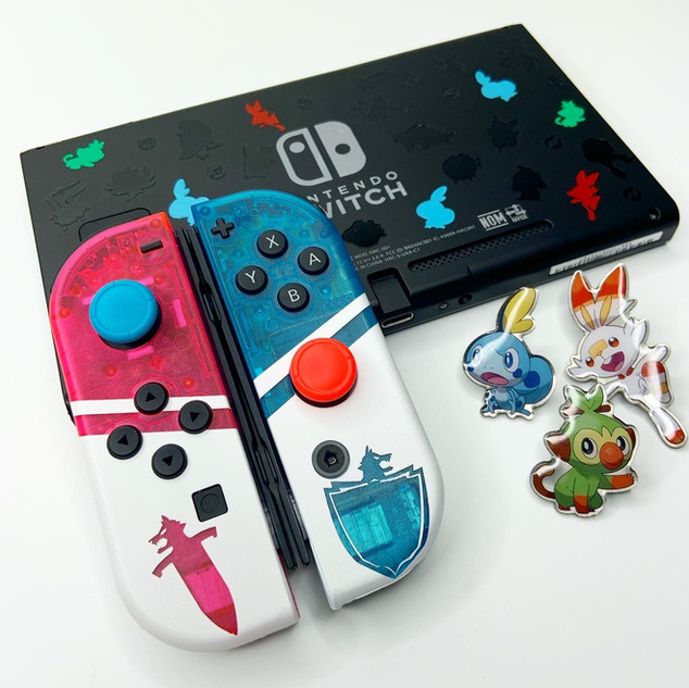 Pokemon Sword and Shield Switch