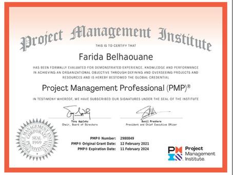 Examen PMP 2021-Mon retour d'expérience