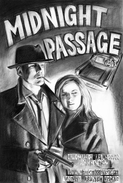 Midnight Passage(Noir Film poster series)