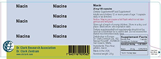 My Week on Niacin